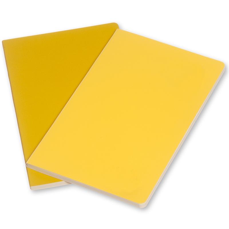 Moleskine Volant 2'li Cep Boy Düz Defter (Sarı)