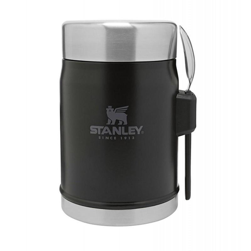 Stanley Classic Vakumlu Yemek Termosu - 0.4 LT (Siyah)