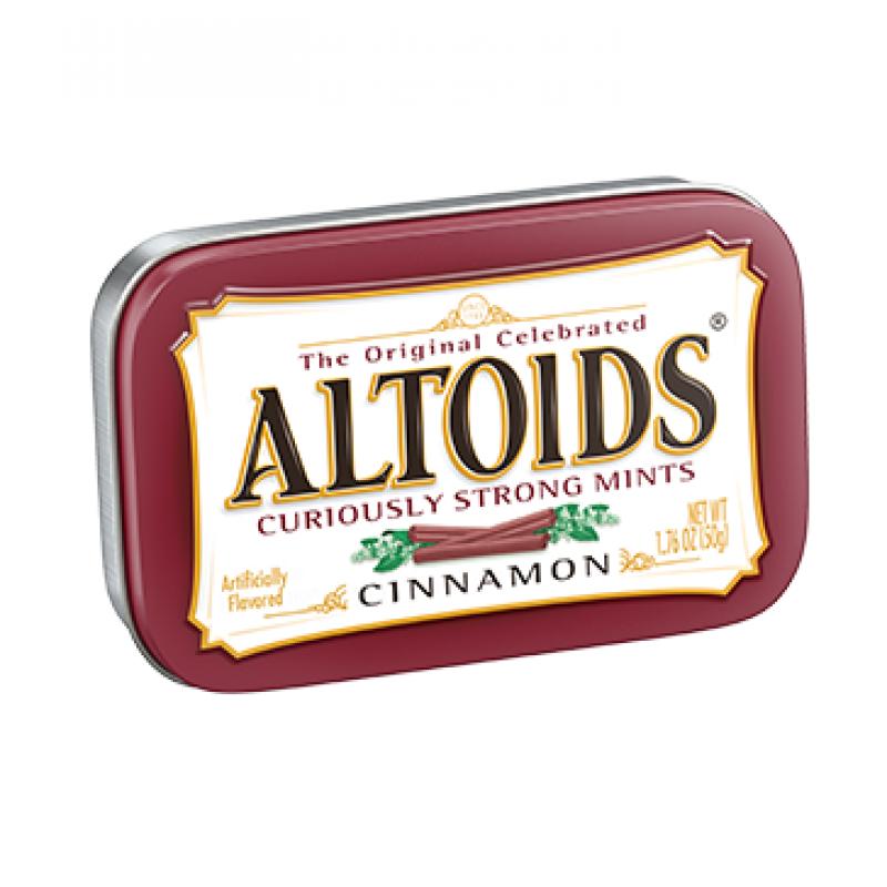 Altoids Cinnamon Kutusu (Bordo)