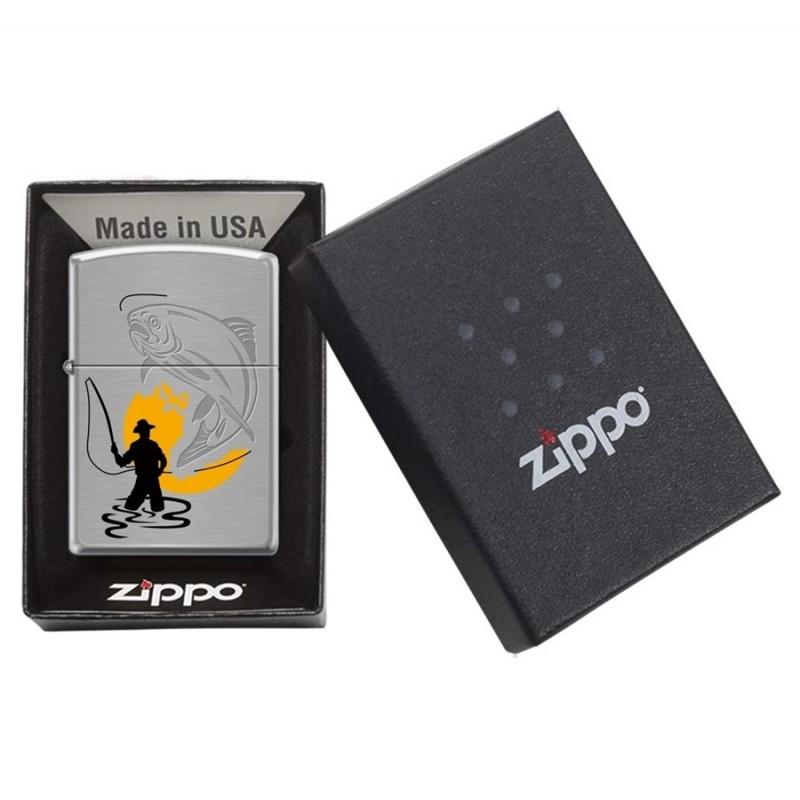 Zippo Fly Fisherman