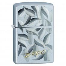 Zippo Leaf Design